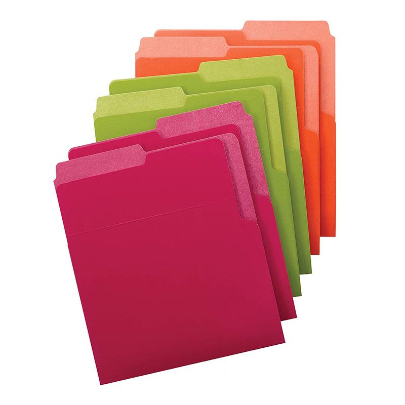 smead organized up heavyweight vertical file folders